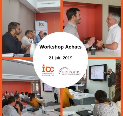 INtervention bridging au workshop achats de IOC